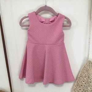 Kate Spade pink baby girl dress 12 months bloomers